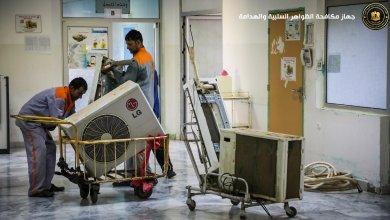 تركيبات وصيانة عاجلة لمستشفى الكلى في بنغازي