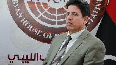 """""""يوسف العقوري"""" - رئيس لجنة الشؤون الخارجية والتعاون الدولي بالبرلمان الليبي"""