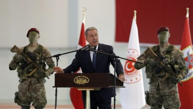 """وزير الدفاع التركي """"خلوصي أكار"""" ممنوع من زيارة العراق احتجاجاً على هجمات تركية شمالي العراق"""