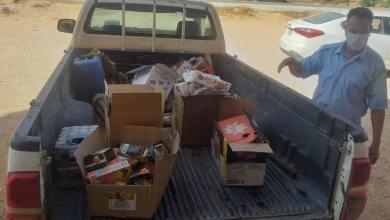 بلدية نسمة تعلن إعدام كمية من مختلف المواد الغذائية منتهية الصلاحية