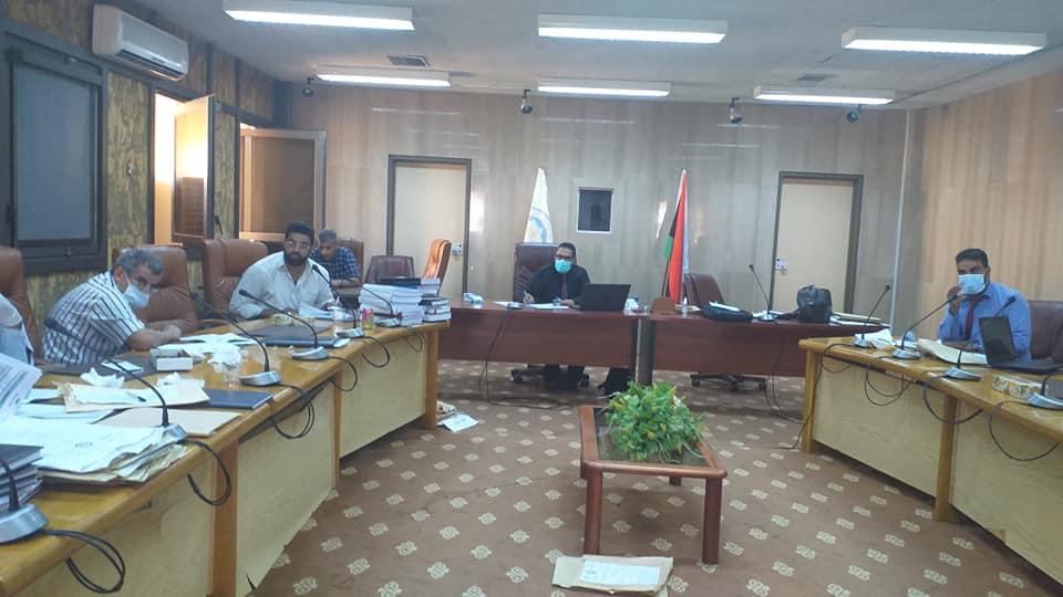 جامعة بنغازي تستضيف الاجتماع الدوري لمركز ضمان الجودة واعتماد المؤسسات التعليمية والتدريبية بالمنطقة الشرقية