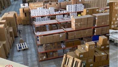 صحة الوفاق تدعم بلدية درج بشحنة من الإمدادات الطبيّة