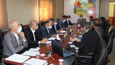 رئيس المباحث الجنائية يستقبل سفير الاتحاد الاوروبي لدى ليبيا