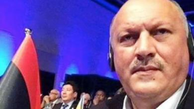 رئيس الاتحاد الليبي للكرة الطائرة عدنان البكباك