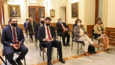 جانب من لقاء رئيس مجلس النواب الليبي والوفد المرافق له مع سفراء الدول الأوروبية في مالطا