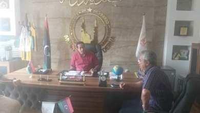 الحكومة الليبية تتابع أعمال الصيانة بمحطة بحوث الفتائح في درنة