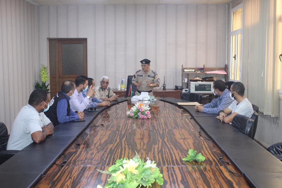 اجتماع مديرية أمن طرابلس