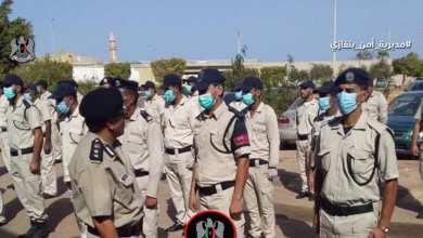 مديرية أمن بنغازي تشارك في الخطة الأمنية بعد إعلان وزير الداخلية إبراهيم أبوشناف