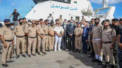 """وصول الزوارق البحرية """"P300-p301"""" لميناء طرابلس البحري"""