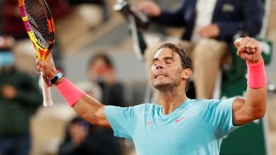 نجم التنس الأسباني روفائيل نادال