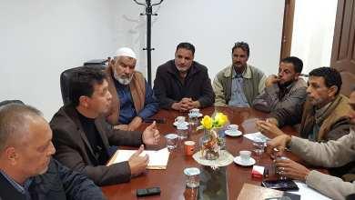 اجتماع لجنة حصر المباني العشوائية في بلدية طبرق