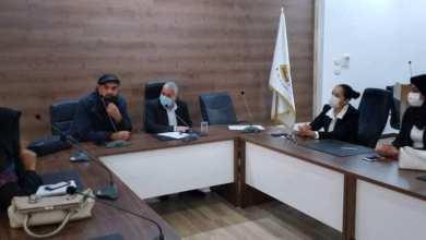 ممثلة الجمعية الليبية لرعاية الحيوان تجتمع مع بلدية حي الأندلس