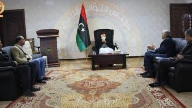 رئيس مجلس النواب يبحث المشاكل التي تواجهها جامعة عمر المختار
