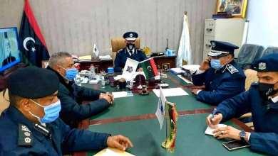 """تنسيق التعاون بين وحدات وأجهزة """"داخلية الوفاق"""" في طرابلس"""