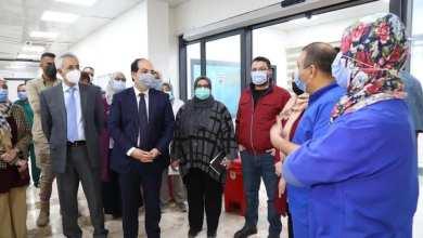 معيتيق يشيد بجهود مركز العزل بمستشفى العيون