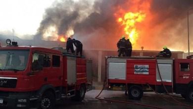 حريق في مستشفى مصر الأمل بمدينة العبور قرب القاهرة