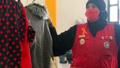 الهلال الأحمر الليبي يفتتح السوق الخيري للعائلات المحتاجة