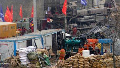 الصين.. إنقاذ أول عامل من 22 عاملاً محاصرين في منجم للذهب انفجر قبل أسبوعين