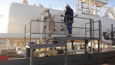 صيانة بعض محطات النفط الخام والمعدات السطحية في حقل الظهرة