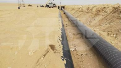 صيانة خط نقل النفط للسدرة