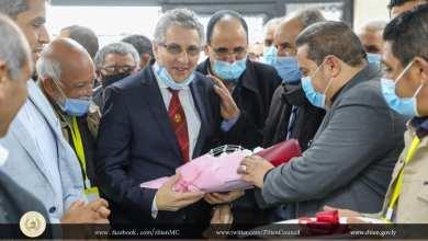حفل افتتاح قسم القسطرة القلبية في مركز زليتن الطبي