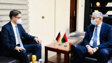 باشاغا يبحث مع أوفتشا التعاون الأمني بين ليبيا وألمانيا