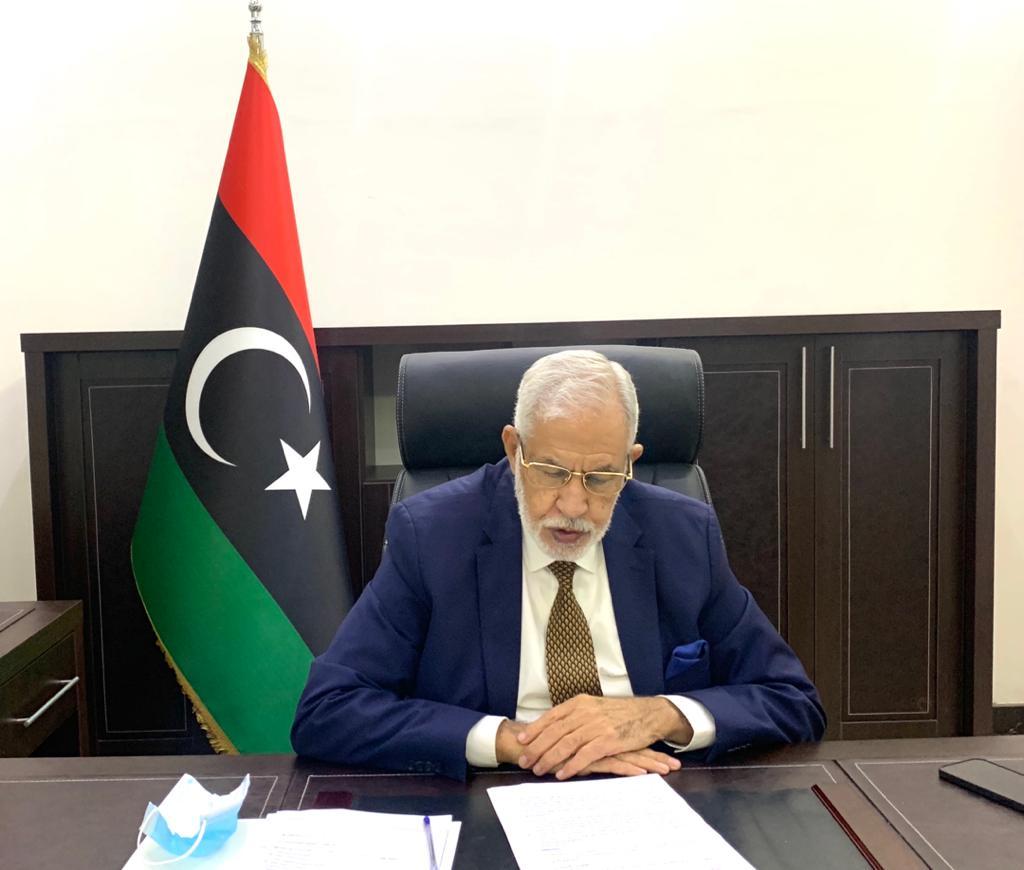 """وزير الخارجية بحكومة الوفاق """"محمد الطاهر سيالة"""""""