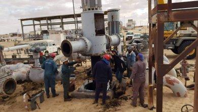 صيانة مضخات حقل مسلة النفطي التابع لشركة الخليج العربي