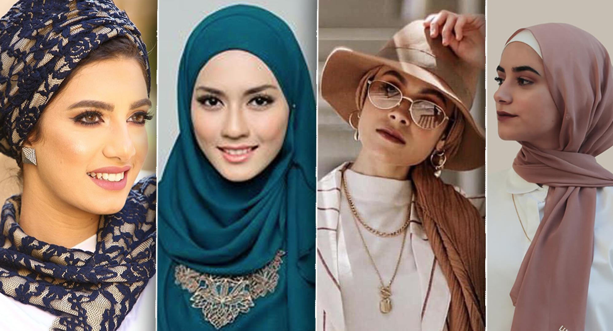 """طرق أنيقة للف الحجاب تعتمدها """"الفاشينيستات"""" في 2021 4"""