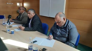 لقاء المجلس البلدي الجفرة مع رؤوساء القطاعات الحكومية