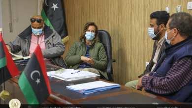 اجتماع بلدية زليتن بشأن إقفال مكب مدورة