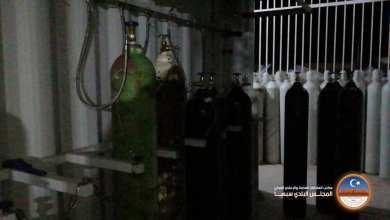 مصنع الأكسجين في سبها لتزويد مراكز العزل