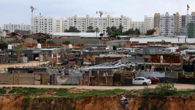 """مخيم الفلاح لنازحي تاورغاء في العاصمة طرابلس -""""أرشيفية"""""""