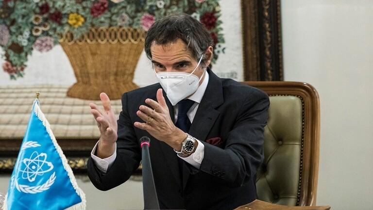 المدير العام للوكالة الدولية للطاقة الذرية رافائيل غروسي