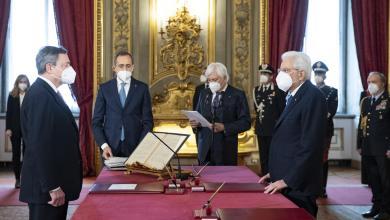 دراغي يؤدي اليمين الدستورية رئيسا للحكومة الإيطالية