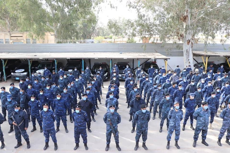 الجمع الشهري لمنتسبي الدعم المركزي جنوب طرابلس