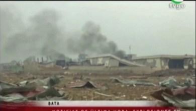 انفجار هائل هز مدينة باتا في غينيا الإستوائية