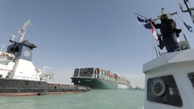 بعد تعويم السفينة.. استئناف حركة الملاحة في قناة السويس