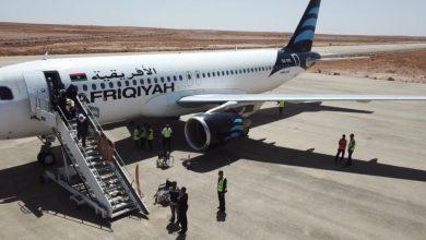 شركة الخطوط الأفريقية تعيد رحلاتها بين مطاري مصراتة وبنينا بنغازي