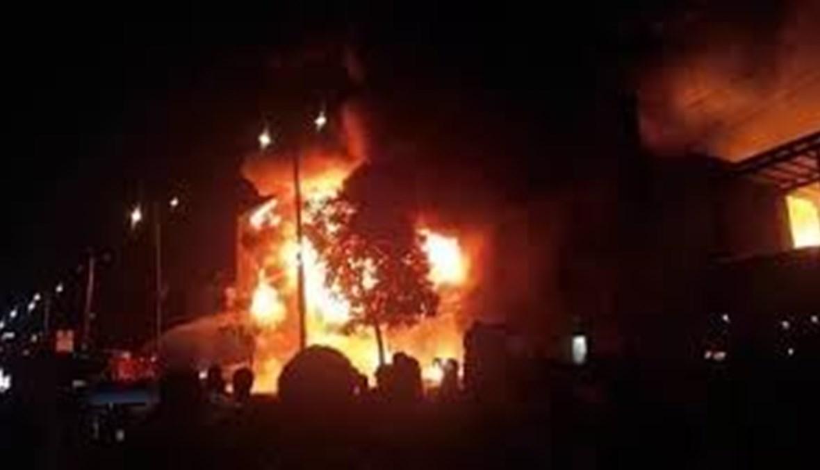 قتلى وجرحى في حريق شب بمركز إيواء مهاجرين في العاصمة اليمنية صنعاء