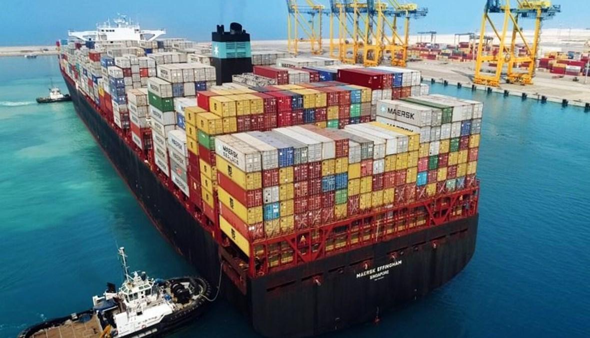 ميناء الإسكندرية من أكبر موانىء مصر على البحر المتوسط