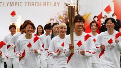 فوكوشيما تطلق رحلة الشعلة الأولمبية في اليابان