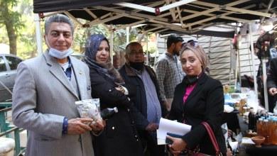 وفد جالو المشارك في معرض القاهرة الدولي للتمور يستقبل زواره من مصريين وليبيين