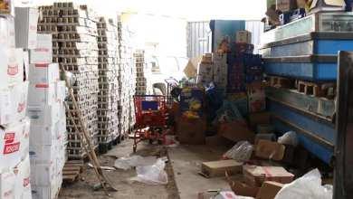 """""""4"""" مخالفات رئيسية في سوق السبعة بطرابلس تضبطها عناصر مركز الرقابة على الأغذية والأدوية"""