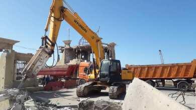 بدء إعادة بناء واجهة ميناء بنغازي