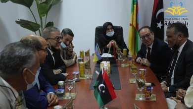 اجتماع تشاوري في زوارة على هامش زيارة سفير تونس لدى ليبيا وبمعيته القنصل العام