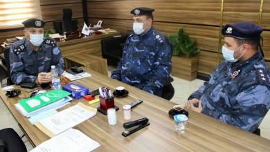 مدير الإدارة العامة للدعم المركزي يجتمع بمرؤوسيه بشأن زيارة المنطقة الشرقية