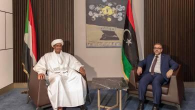 """المشري يلتقي في النيجر مع نائب رئيس مجلس السيادة السوداني الفريق أول """"محمد حمدان دقلو حميدتي"""""""