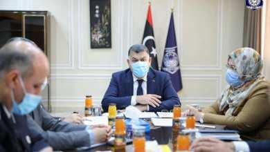 وزير الداخلية خالد مازن يعقد أول اجتماع للجنة متابعة أوضاع ترهونة