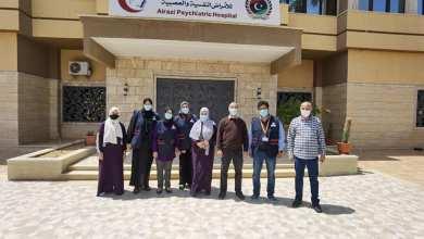 فريق من المركز الوطني لمكافحة الأمراض يعالج حالات إصابة بالجرب في مستشفى الرازي للأمراض النفسية والعصبية